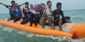 On Banana Boat