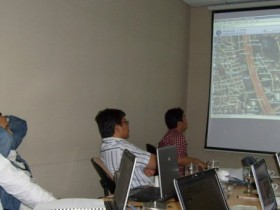 Training Webgis dan Database di KPK